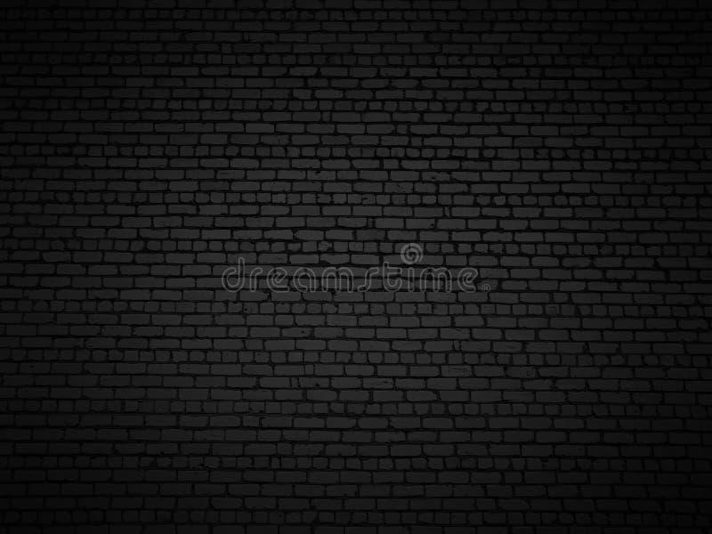 Ocieniony ściana z cegieł. fotografia royalty free