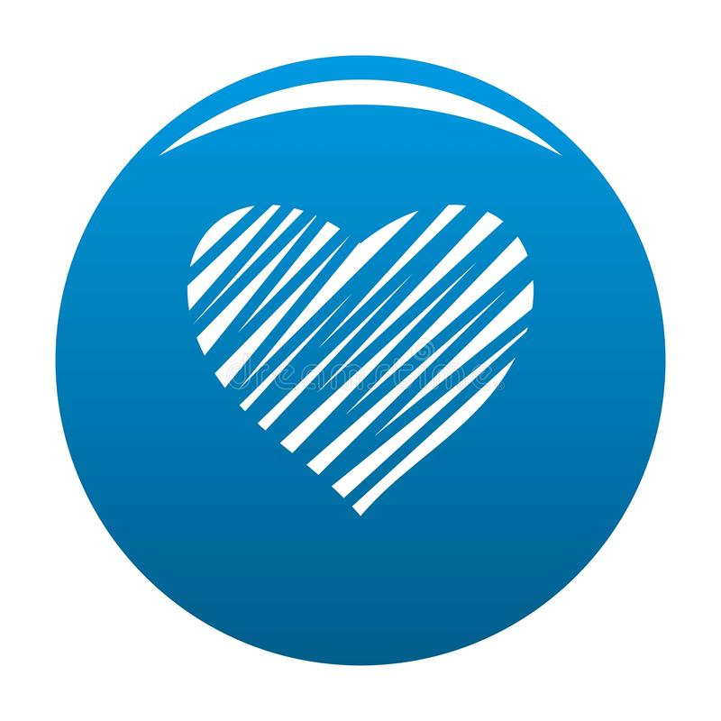 Ocieniony kierowy ikony błękit ilustracji
