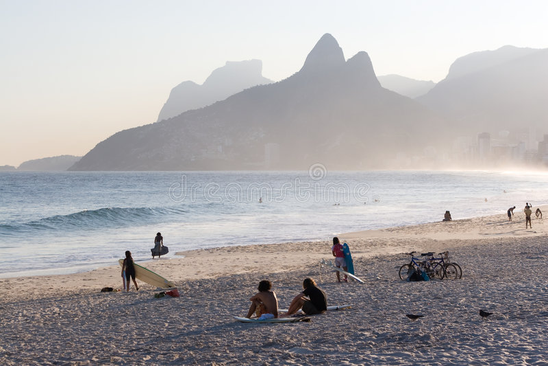 Ocio en Rio de Janeiro fotos de archivo