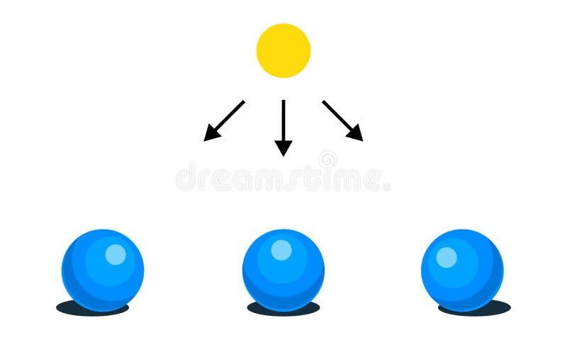 också vektor för coreldrawillustration Infographics Ljus skugga, ilsken blick, reflex, vektor illustrationer