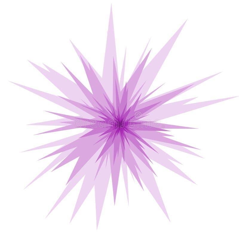 också vektor för coreldrawillustration Retro Starburst goda för emblem, etikett eller logo Radiell bakgrund för komisk hastighet royaltyfri illustrationer