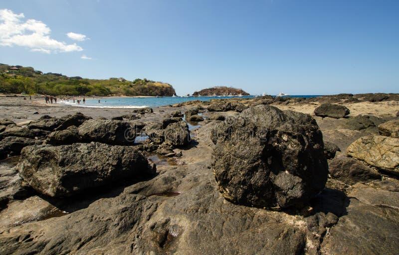 Ocotal plaża w Guanacaste, Costa Rica - zdjęcia stock