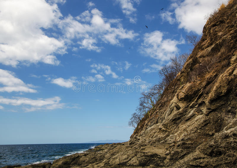 Ocotal plaża w Guanacaste, Costa Rica - zdjęcie royalty free