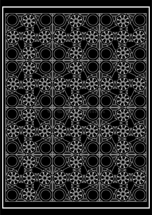 Octágono con un círculo imágenes de archivo libres de regalías