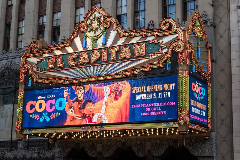 Where to park for el capitan theater los angeles