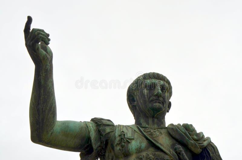 Octavian Augustus statua w Rzym, Włochy zdjęcie stock