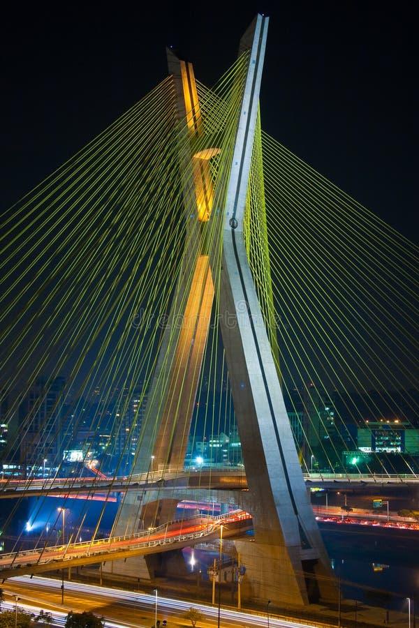 Free Octavio Frias De Oliveira Bridge Stock Image - 11042761