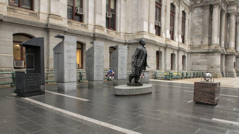 Octavius Valentine Catto Memorial stadshus, Philadephia arkivfoton
