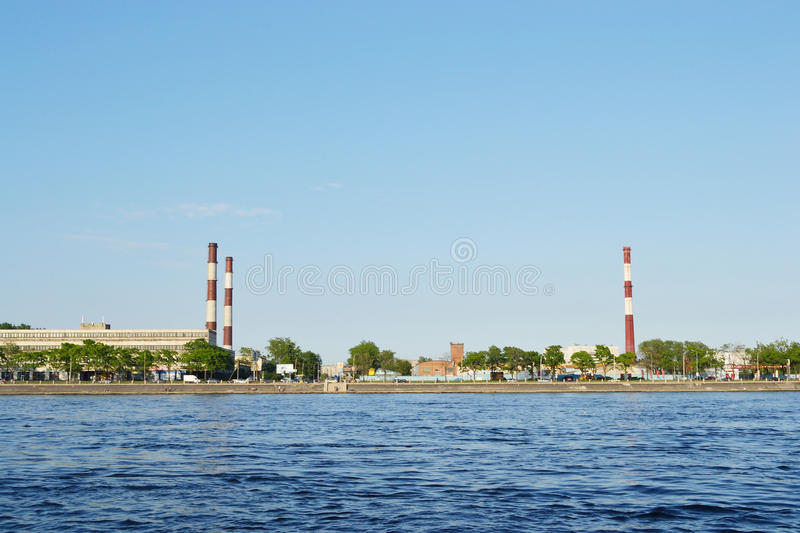 Download October Embankment And Neva River Stock Photo - Image: 22615450