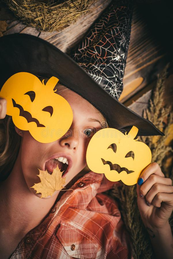 31 october. Happy halloween. Happy Halloween Stickers. Halloween decoration and scary concept. Trick or treat. Halloween. Dresses and witch costumes and witch stock photography