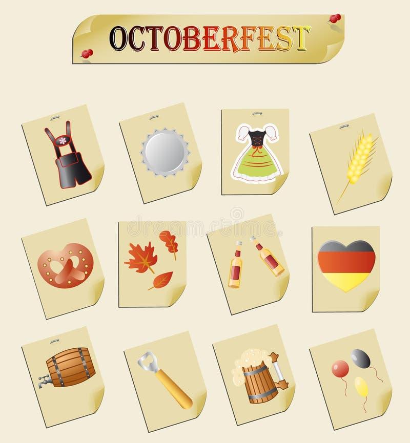 Octoberfest 皇族释放例证