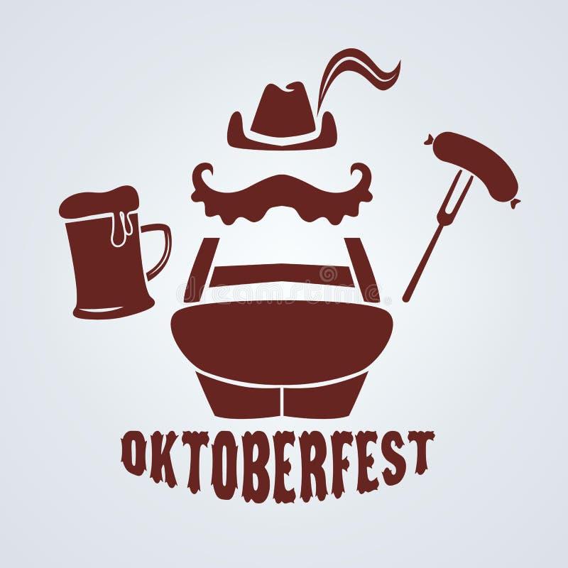 Octoberfest illustration stock