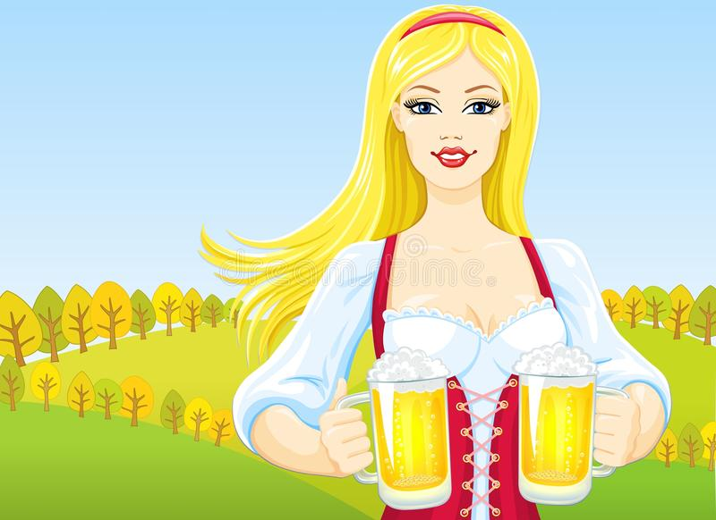 Download Octoberfest Girl Stock Photos - Image: 16158283