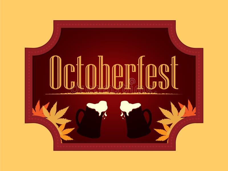 Octoberfest wakacyjny piwny festiwal zdjęcie stock