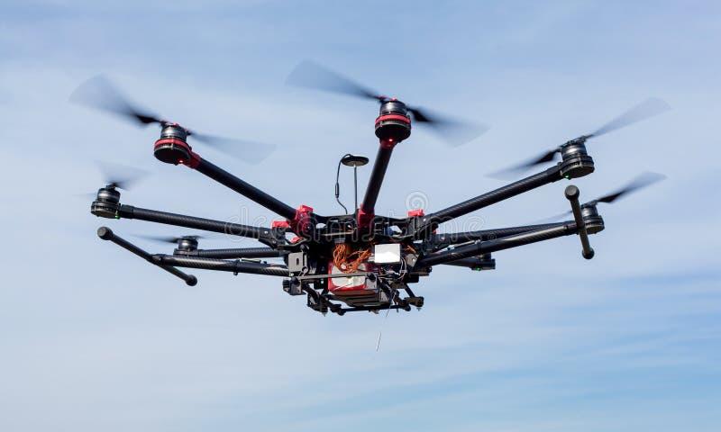 Octocopter, copter, quadrocopter στοκ φωτογραφίες