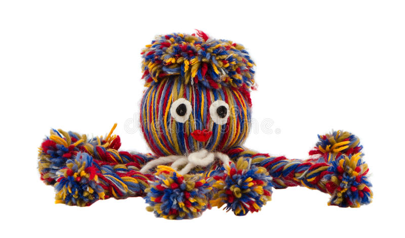 Download Octopus Devilfish Colorful Woolen Threads Isolated Stock Image - Image: 26384521
