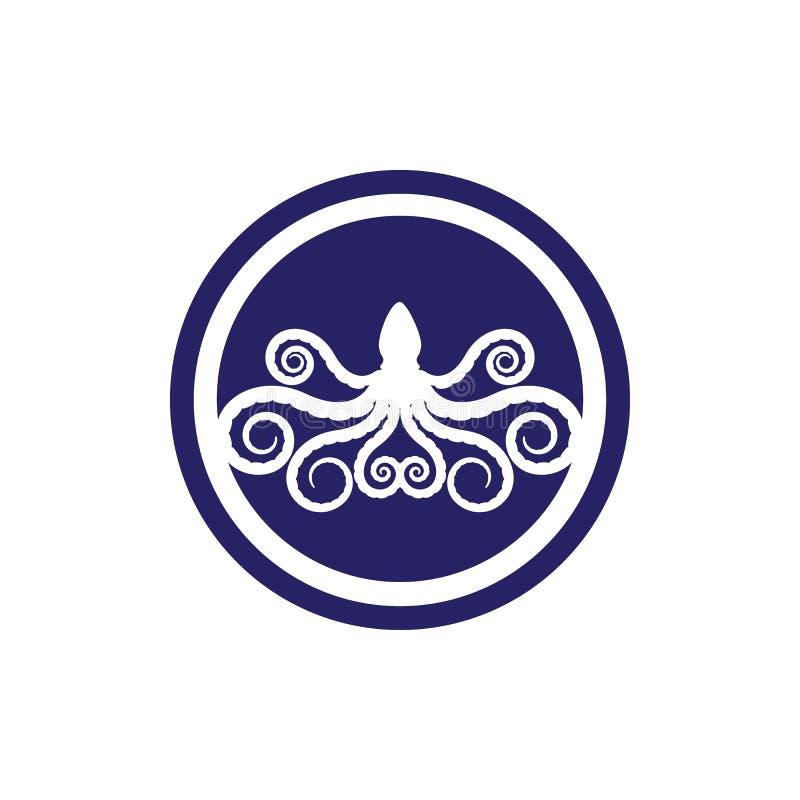 octopus icon Vector Illustration desigN stock illustration