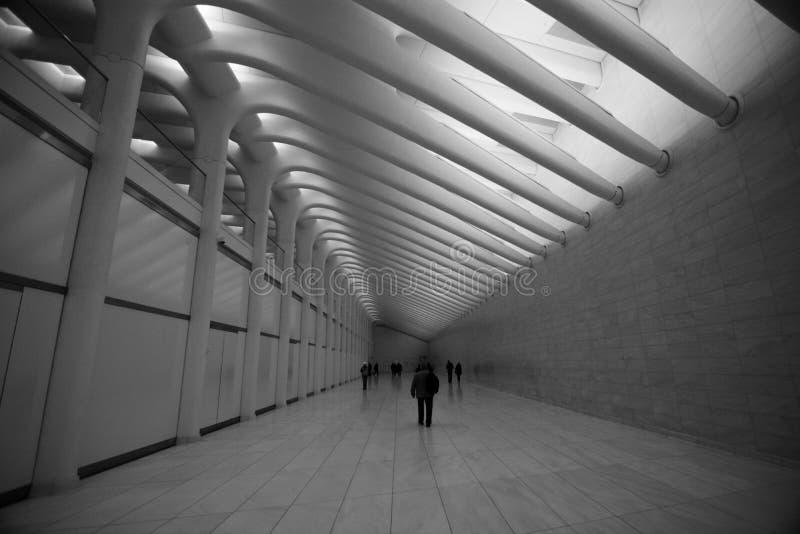 OCULUS, η πλήμνη μεταφορών του World Trade Center στοκ εικόνες με δικαίωμα ελεύθερης χρήσης