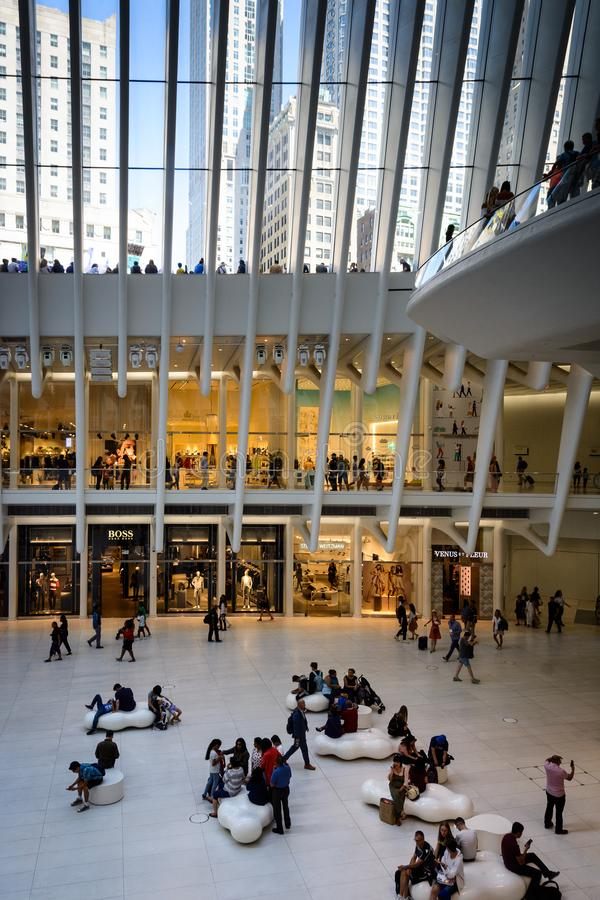 The Oculus - the hall III, New York stock photo