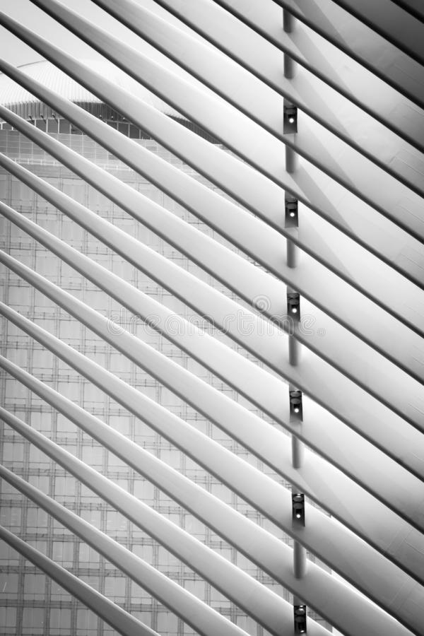 The oculus II - abstract detail - Manhattan, New York stock photography