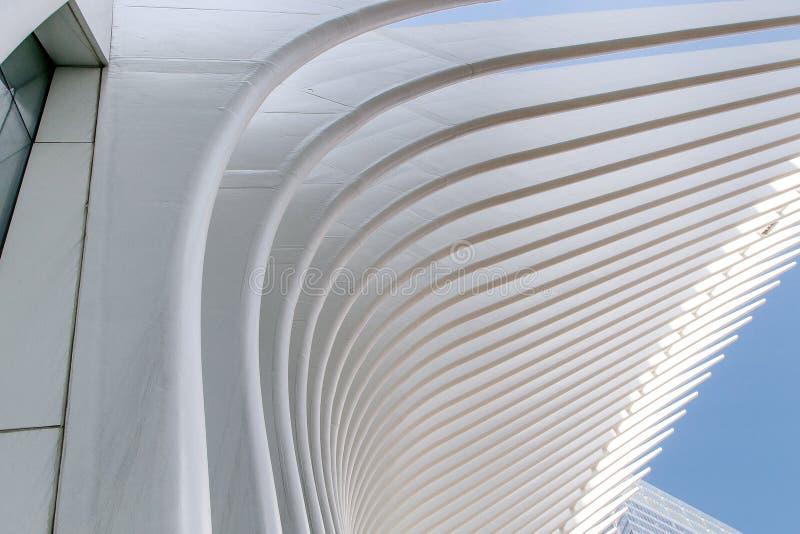 Oculus in NYC stock afbeeldingen