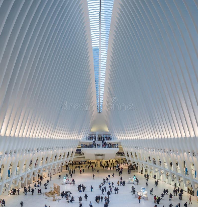 Oculus, World Trade Center, New York stockbild