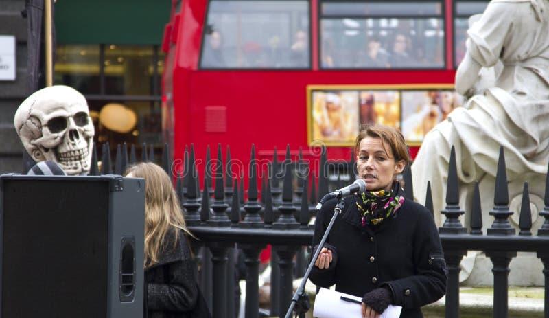 Ocupe la bolsa de Londres imagen de archivo libre de regalías