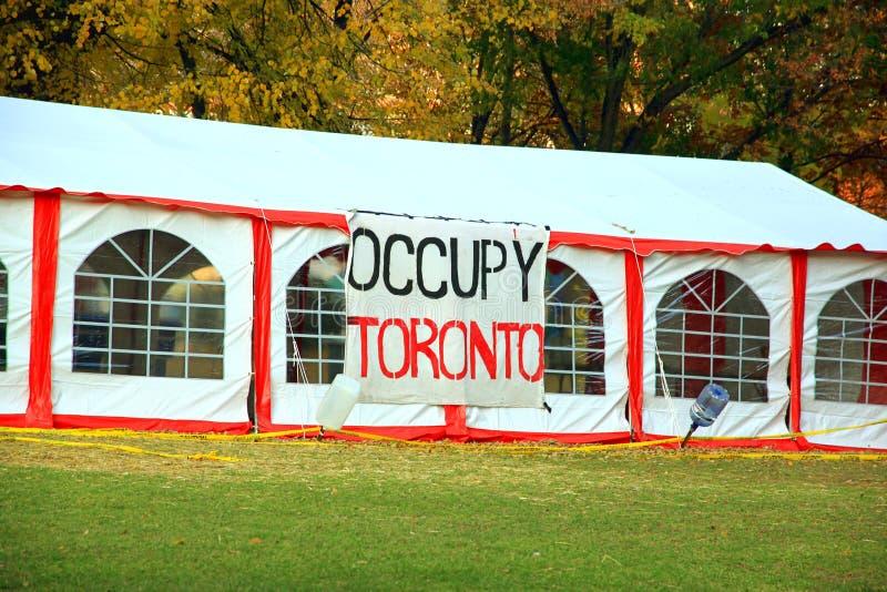 Ocupe Toronto fotos de stock