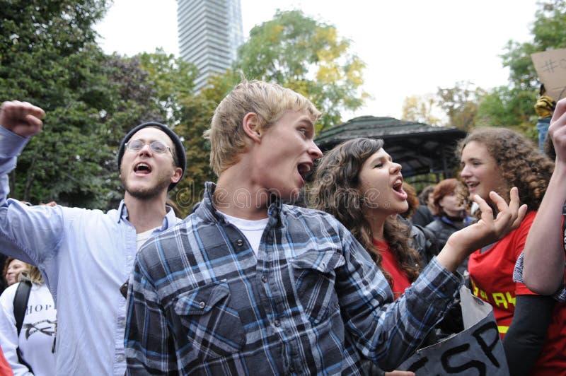Ocupe Toronto fotografia de stock