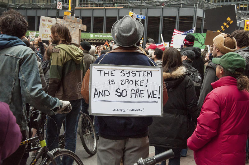 Ocupe várias cenas de Toronto imagem de stock royalty free