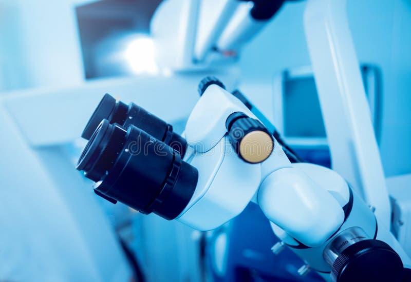 Oczny wyposażenie medyczny fotografia stock