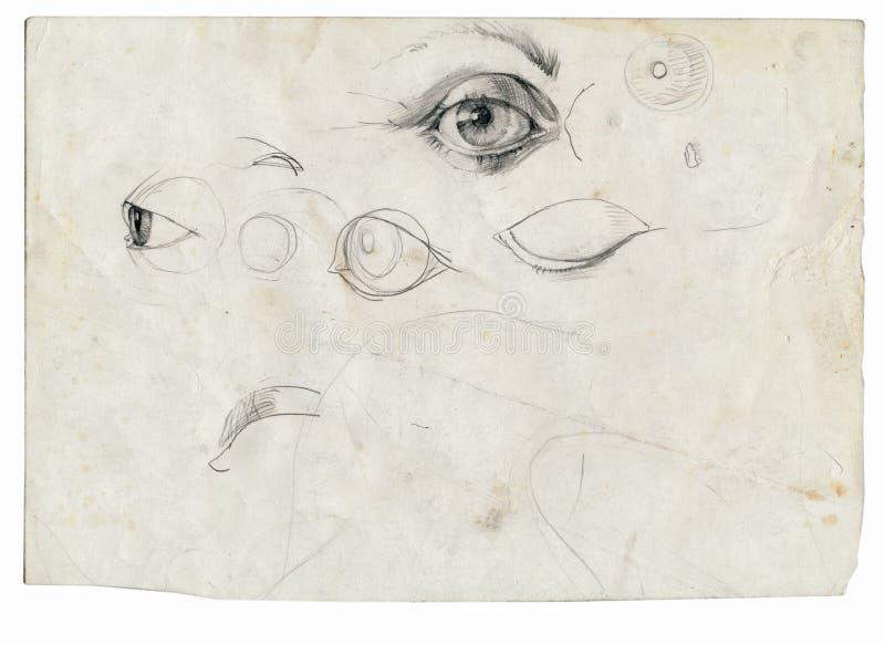 oczy ilustracji