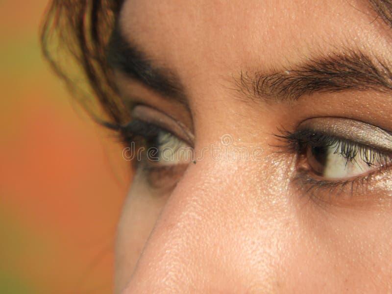 oczy kobiety fotografia royalty free