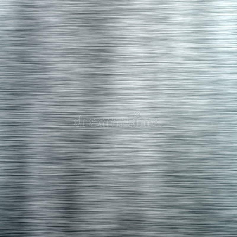 Oczyszczona Aluminiowa tło tekstura zdjęcia stock