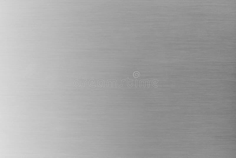 Oczyszczona metal tekstura lub oczyszczony aluminiowy tło obraz royalty free
