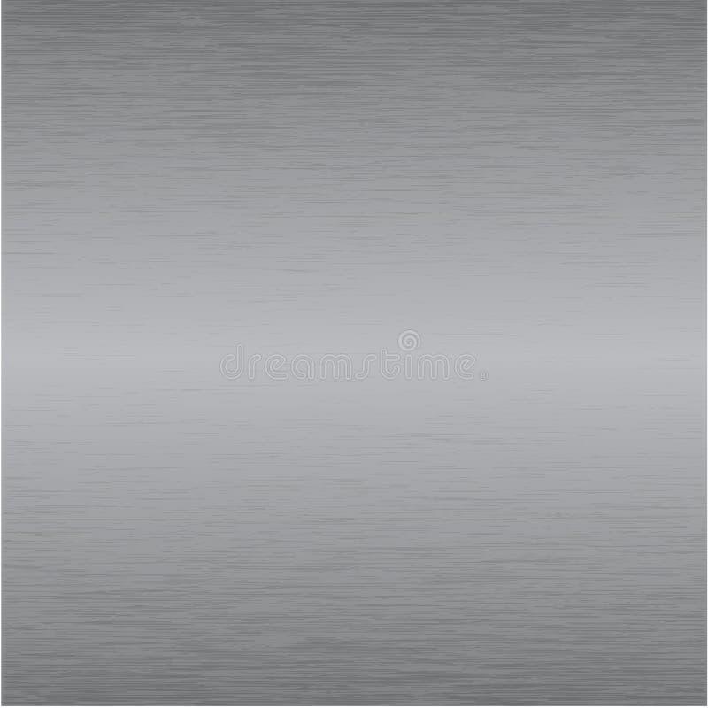 oczyszczona metalu talerza tekstura royalty ilustracja