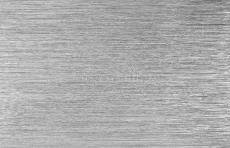 Oczyszczona stalowa metal tekstura obrazy stock