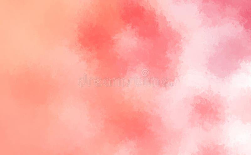 Oczyszczony malujący abstrakcjonistyczny tło Muśnięcie muskający obraz tapeta abstrakcyjna ilustracji