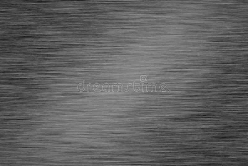 Oczyszczony metalu talerz ilustracji
