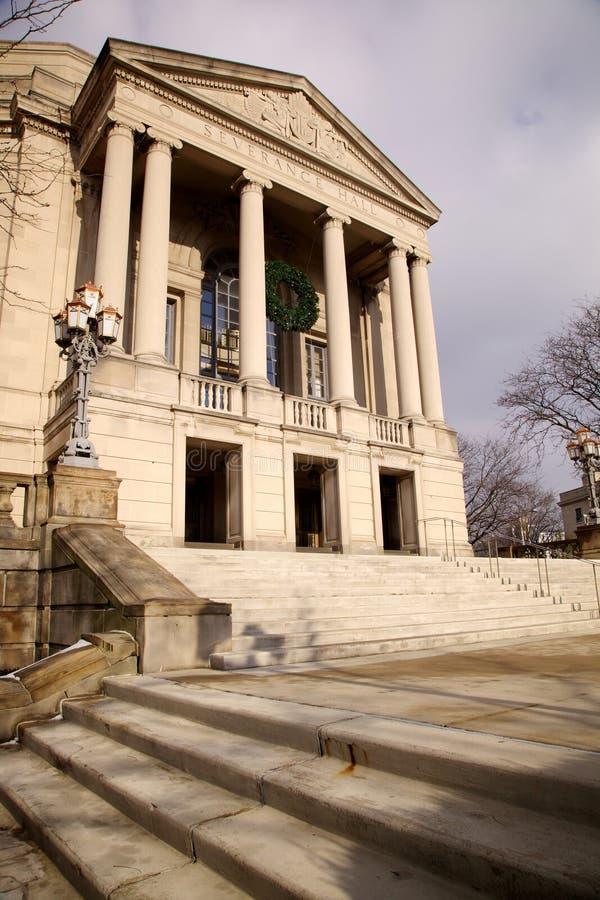 Odłączanie Hall, Cleveland obraz royalty free
