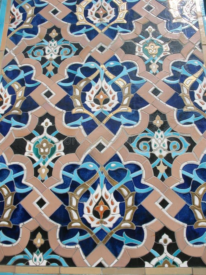 odłamki meczetowy ornament zdjęcia stock