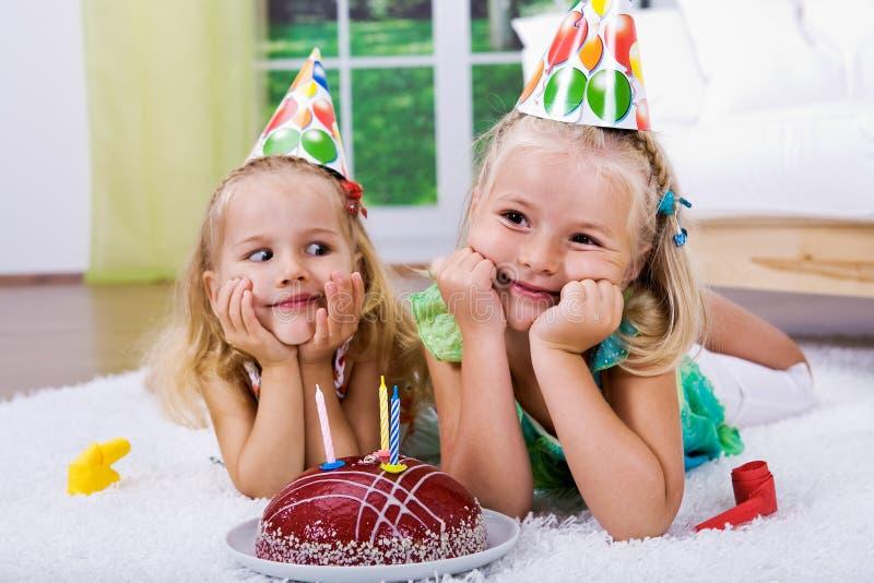 Odświętność urodziny zdjęcie stock