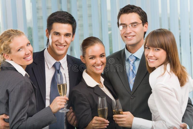 odświętności biznesowa drużyna obraz royalty free
