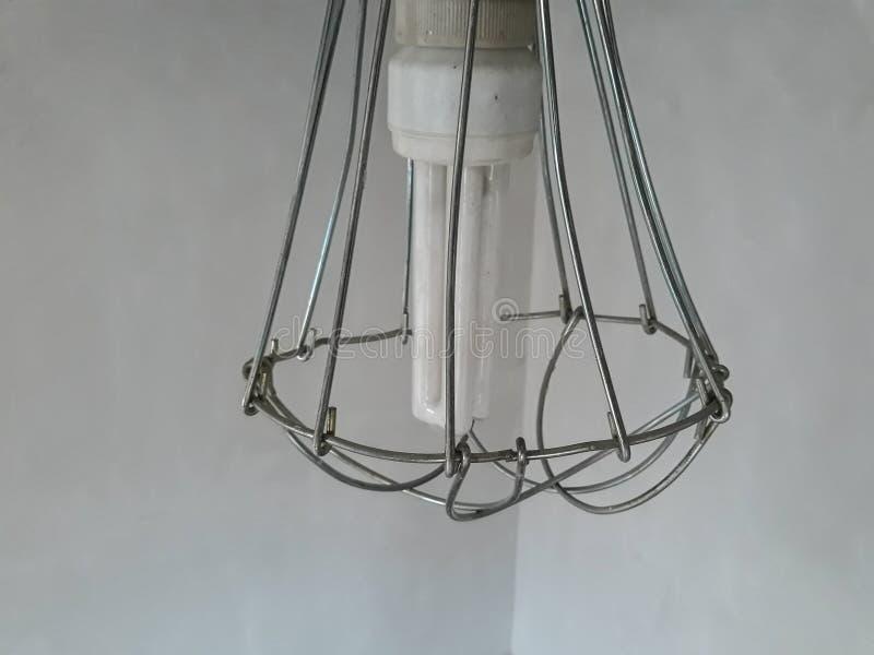 odświeżania wnętrze w pokoju z lekką lampą i elementami budowa fotografia stock
