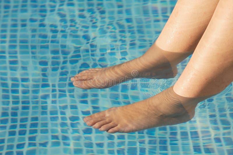 odświeżyć stopy zdjęcie royalty free
