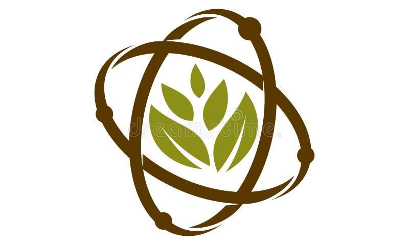 Odżywki Guru Eco nauki technologii Lab royalty ilustracja