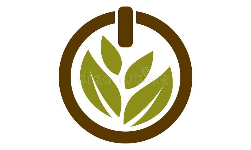 Odżywki Guru Eco nauki technologii Lab ilustracja wektor