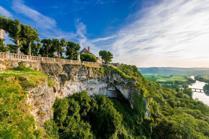 Od kopuły dordogne panoramiczny widok obrazy stock