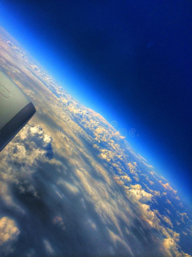 Od powietrza zdjęcie stock