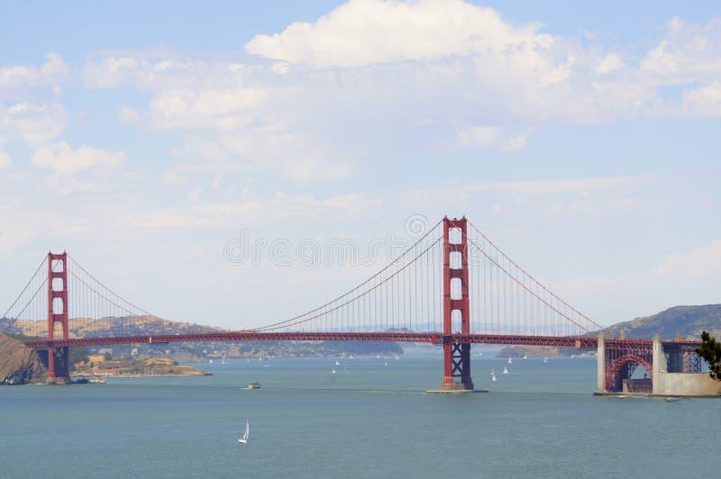 Od Presidio złoci wrota most zdjęcia stock